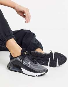Черно-серебристые кроссовки Nike Air Max 2090