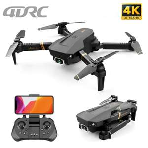 Квадрокоптер 4DRC V4 Wi-Fi FPV Dual 4K Camera
