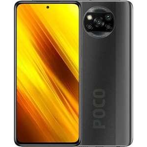 Смартфон Poco X3 6/128GB, серый