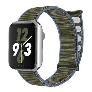 Ремешок нейлон Yaskj для Apple Watch 38-40mm