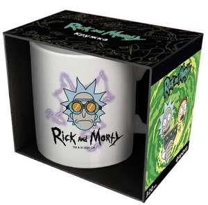 Кружка ND Play Рик и Морти: Рик в очках, 330мл (с баллами за 79₽)