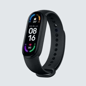 Фитнес-браслет Xiaomi MI Band 6, черный (из за рубежа)