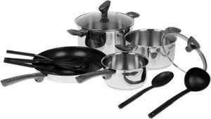 Набор посуды Tefal G713SB74 Daily Cook (11 предметов)
