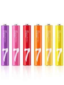 Алкалиновые батарейки Xiaomi ZMI Rainbow ZI7 10шт AAA