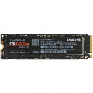 SSD Samsung 970 Evo Plus M.2 NVMe 500GB