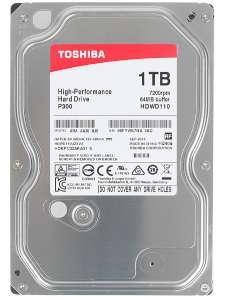 Toshiba / Жесткий диск P300, 1 ТБ (HDWD110UZSVA)