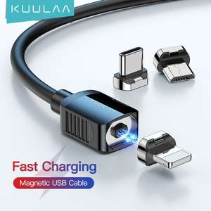 Магнитный кабель KUULA 2A USB Type C