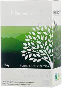 [Оренбург] Чай зеленый Heladiv Green Tea Pekoe, 100 г