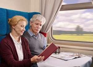 Скидка 30% в купе пассажирам в возрасте от 60 лет и старше