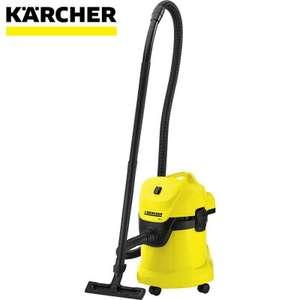 Строительный пылесос KARCHER WD 3 P желтый 17л