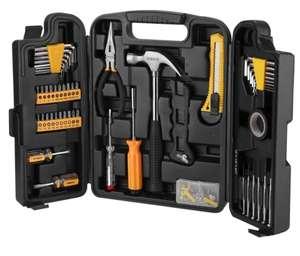 Набор инструментов для дома DEKO DKMT142, 065-0308, 142 предмета, в чемодане