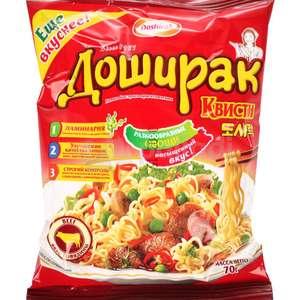 Лапша Доширак Квисти со вкусом говядины, 70г