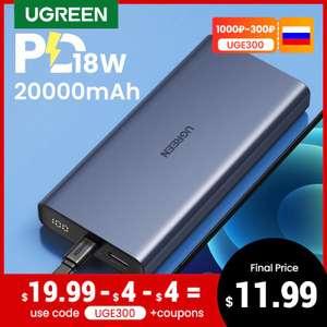 Повербанк Ugreen 20000mAh PD18W