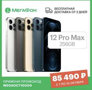 Смартфон Apple iPhone 12 Pro Max 256 РСТ