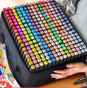 Двусторонние маркеры ODOYO для скетчинга для граффити канцелярия scrapbooking набор 204 цвета