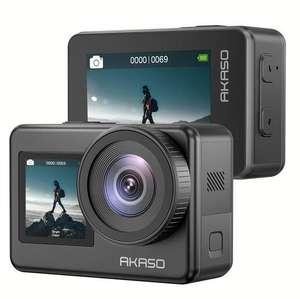 Экшен-камера AKASO Brave 7 + внешний микрофон в подарок