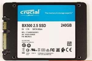 Твердотельный накопитель Crucial BX500 CT240BX500SSD1 SSD 240 Гб