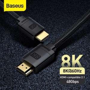 Кабель Baseus HDMI 1м