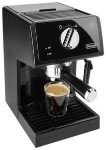 Кофеварка рожкового типа DeLonghi ECP 31.21 (в Эльдорадо у кого баллы за чекин 5199₽)