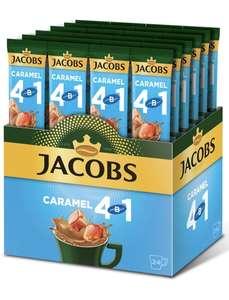 Напиток кофейный Jacobs 4 в 1 Caramel, растворимый, 24 стика по 12 г