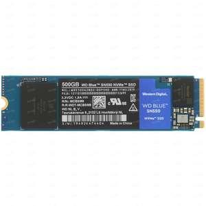 500 ГБ SSD M.2 накопитель WD Blue SN550