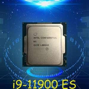 Процессор Intel Core i9 11900 ES QVYE, 8/16, 4.1 Ghz на все ядра.