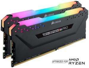 Оперативная память Corsair Vengeance RGB Pro Schwarz 16GB DDR4 RAM multicoloured illumination