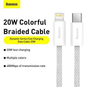 Кабель Baseus 20 Вт USB TypeC - Lightning (1м)