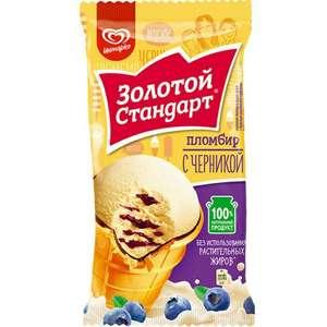 Мороженое Золотой стандарт в асс–те