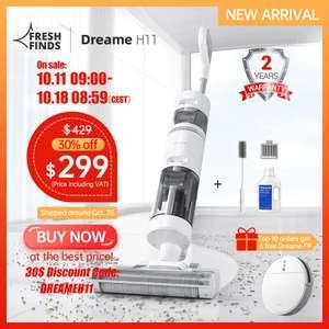 Аккумуляторный моющий пылесос Dreame H11