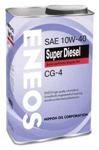 Моторное масло ENEOS 10W-40 Полусинтетическое 940 л