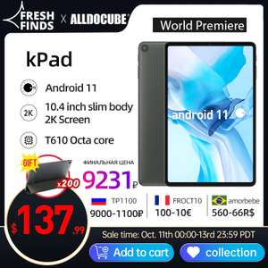 "Планшет Alldocube kPad 10.4"" 4+64GB 4G LTE"
