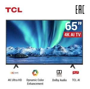 "Телевизор UHD 65"" TCL 65P615 (AndroidTV, Dolby Audio)"