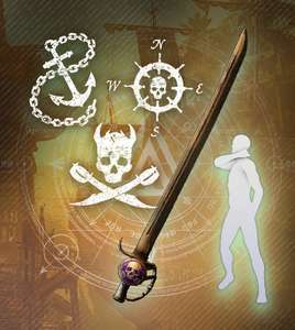 [PC] Loot: New World - Pirate Pack No.1 & 2 (Prime Gaming)
