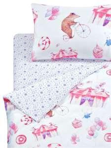 Постельное белье 1st Home, 1.5-спальное на молниях (несколько расцветок)