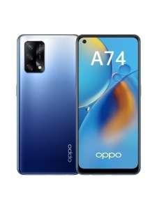 Смартфон Oppo A74 4/128GB, AMOLED 6.43 2400x100, NFC, быстрая зарядка 33 Вт, SD662, сканер в экране