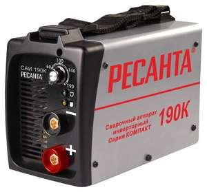 Сварочный инвертор Ресанта САИ-190К (SAI-190K)