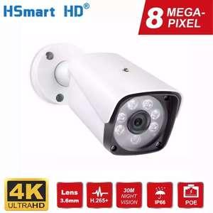 4K IP-камера видеонаблюдения 8 Мп HSmart HD