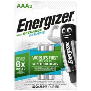 Аккумулятор Energizer AAA 800 мАч 2шт., E300624302 (145₽ с баллами)