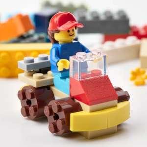 Конструктор LEGO БЮГГЛЕК, 201 деталь, 5+