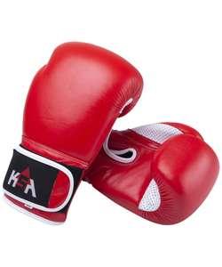 Боксерские перчатки KSA Wolf 8,10,12 унций (буйволиная кожа)