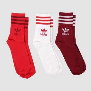 Носки Adidas Crew Mid Cut. (3 пары)