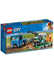 Конструктор LEGO City Great Vehicles Транспортировщик для комбайнов