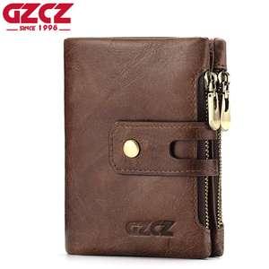 Кожаный мужской портмоне GZCZ