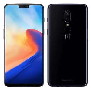 OnePlus 6 Android 8.1, Snapdragon 845, 8 ядер 6/64GB 16+20MP за 396.99$