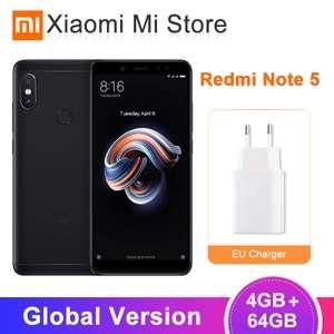 Xiaomi Redmi Note 5 4/64 Black/Gold