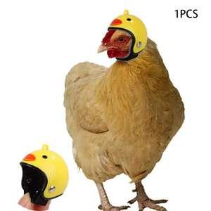 Шлем для куриц и других крупных птиц