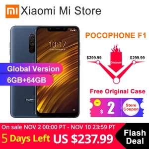 Xiaomi POCOPHONE F1 за US $237.99