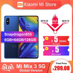 [11.11] Xiaomi Mi Mix 3 5G за $269.08