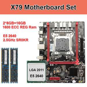 Игровой набор Kllisre X79 M2 + Xeon E5 2640 + 16 Gb DDR3